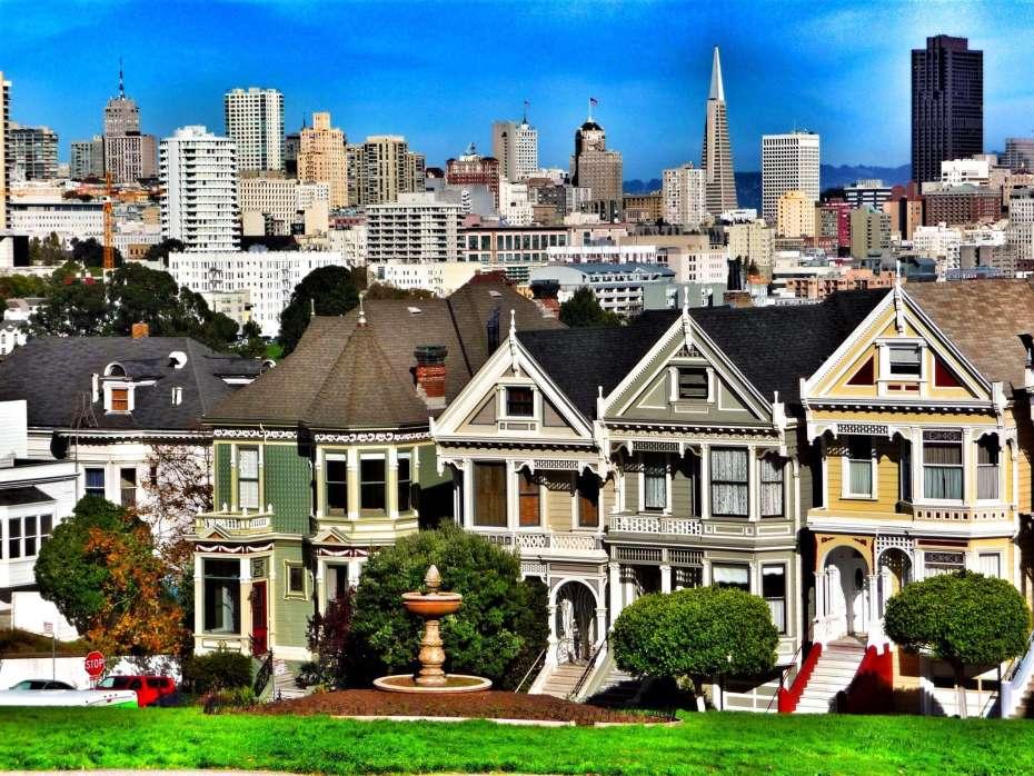 Die Transamerica Pyramide prägt die Skyline von San Francisco