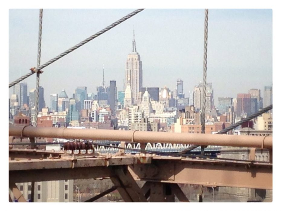 Skyline - aufgenommen von der Brooklyn Bridge