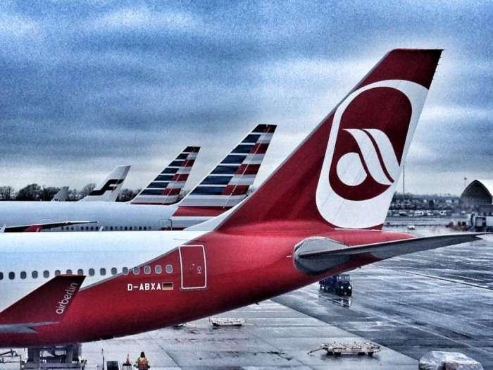 Air Berlin auf dem JFK