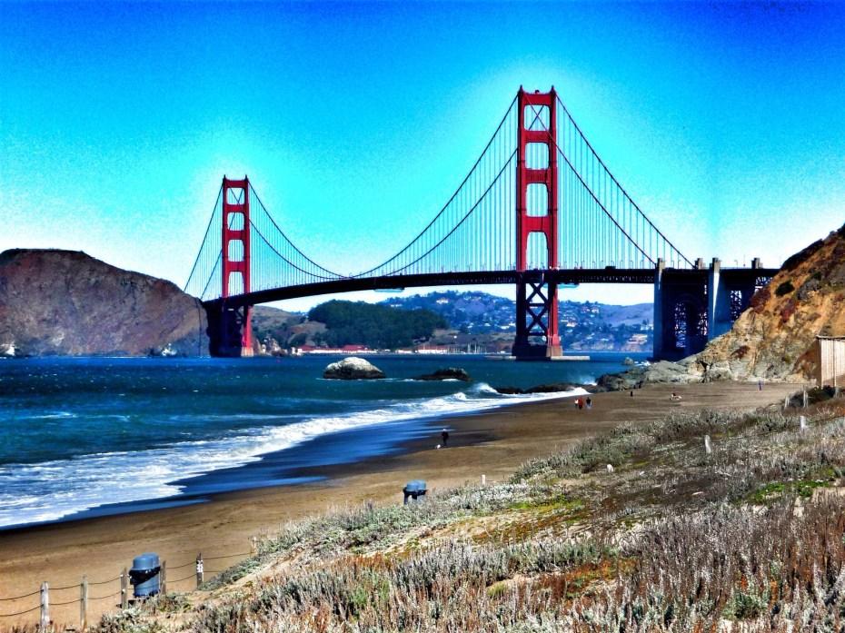Startpunkt der Tour: Die Golden Gate Brdige