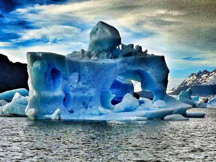 Eisberg im Süden Chiles