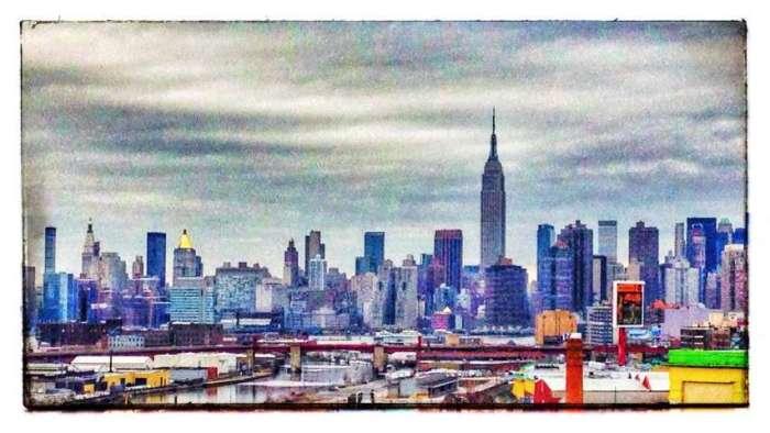 Skyline - aufgenommen aus Queens