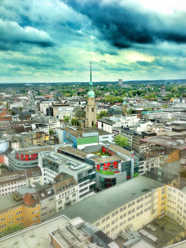 Dortmund-City mit der Reinoldikirche