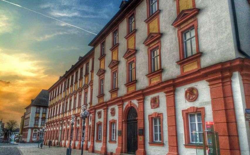 Die historische Innenstadt in Bayreuth