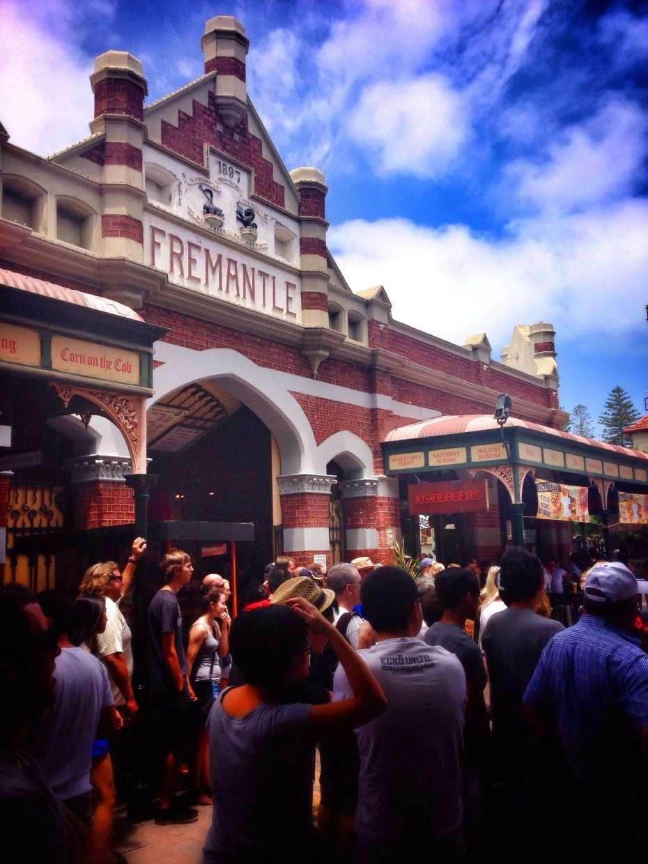 Der Markt von Fremantle