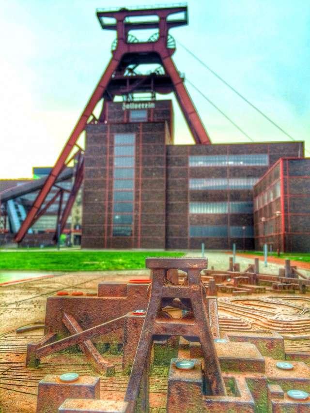 Zeche Zollverein - in klein und groß