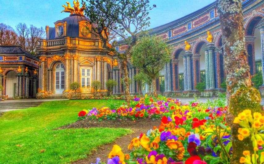 Der Sonnentempel – das bunte Schloss in Bayreuth
