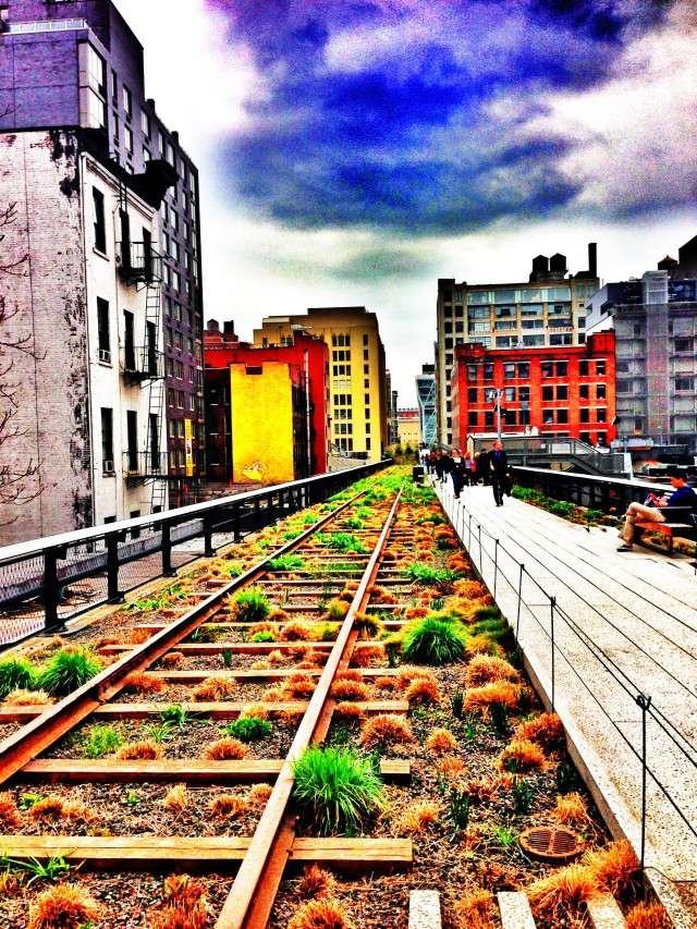 Die High Line in New York
