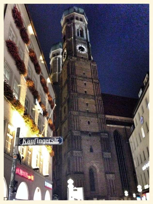Die Münchener Frauenkirche