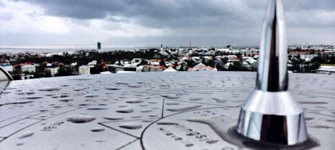 Blick über Reykjavik – vom Warmwasserspeicher Perlan