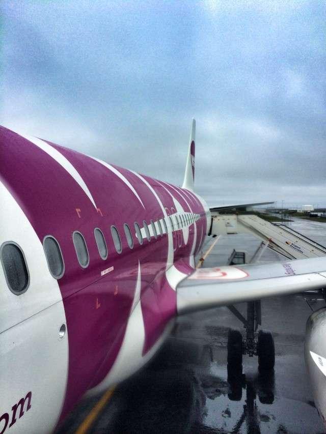 Die isländische Billigfluglinie WOW Air