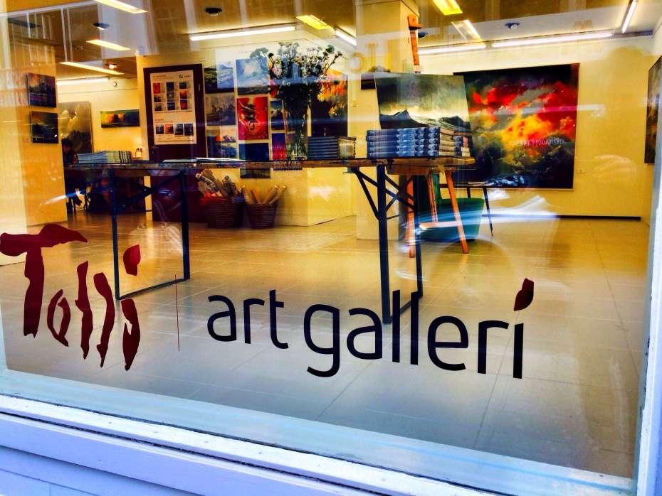 Gallerie an der Laugavegur