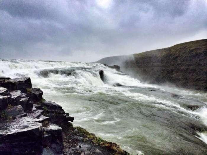 Wasserfall Gulfoss