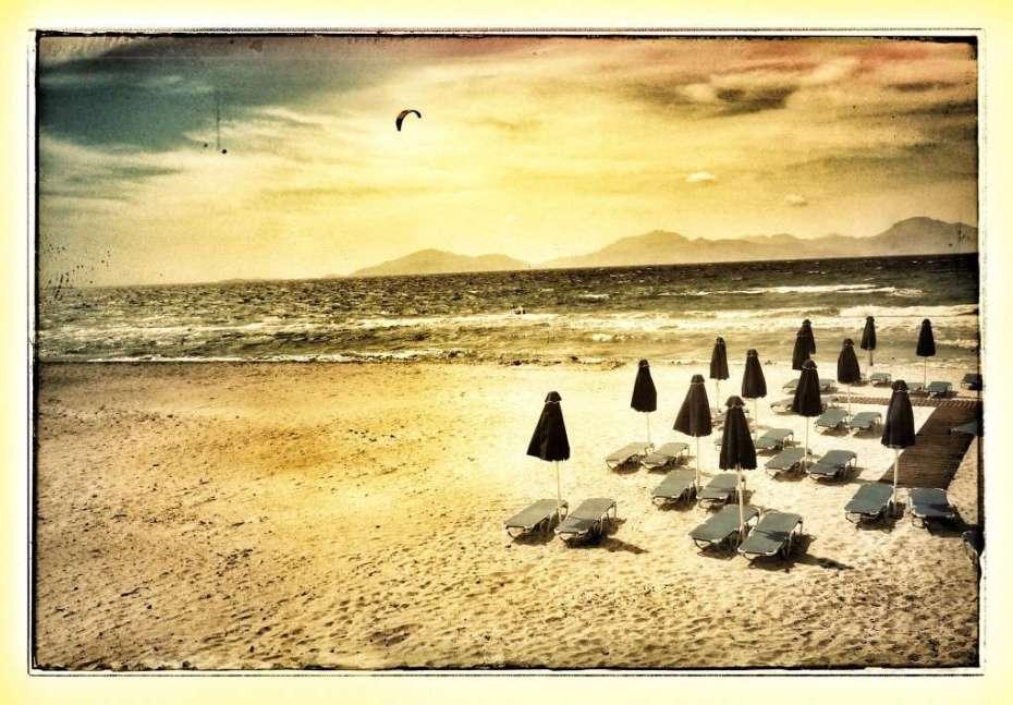 Kardamena Beach auf Kos