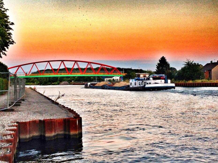 Rhein-Herne-Kanal bei Herne