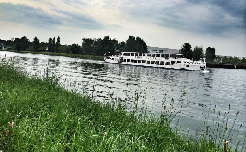 Radtour und Bootstour auf dem Dortmund-Ems-Kanal