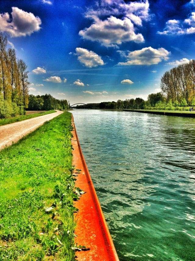 Radweg am Datteln-Hamm-Kanal