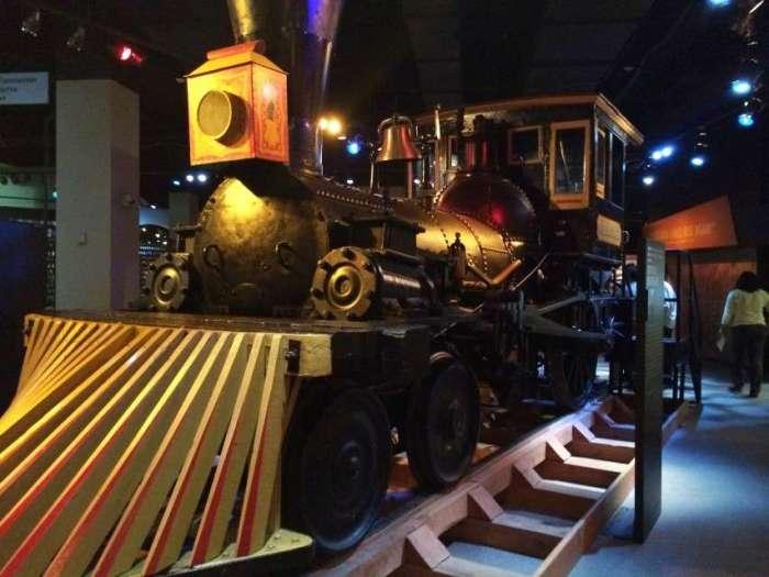 Die Lok im Chicago History Museum