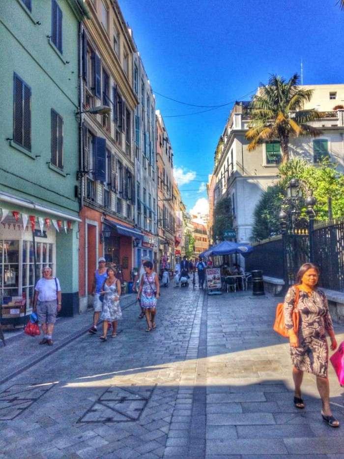 Die Altstadt von Gibraltar
