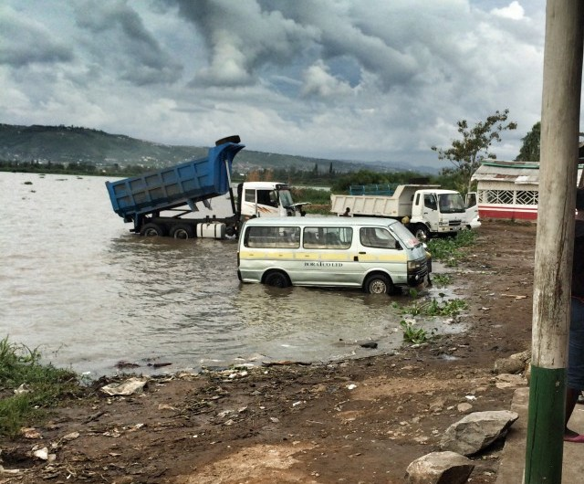 Autowaschen wie in Kenia