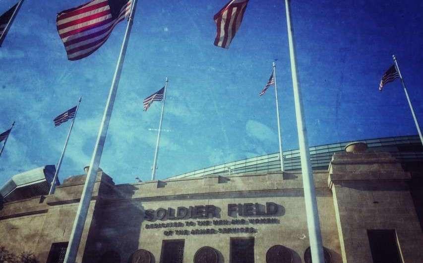 Jürgen Klinsmann, die Chicago Bears und das Soldier Field