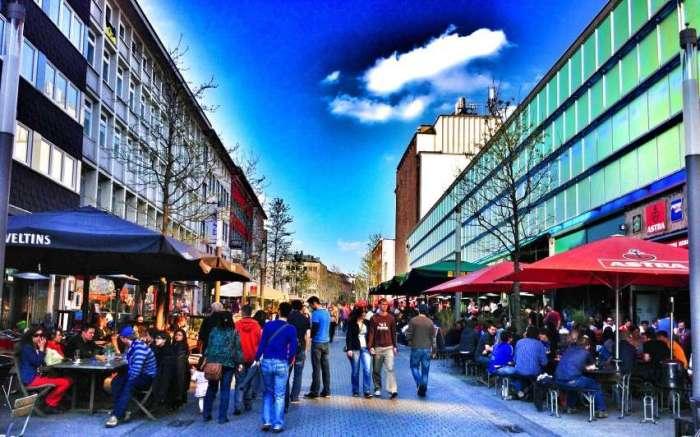Die Kneipenmeile im Ruhrgebiet