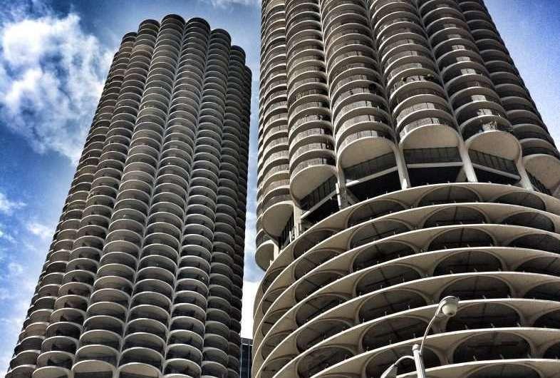 Die Maiskolben von Chicago – die Marina City