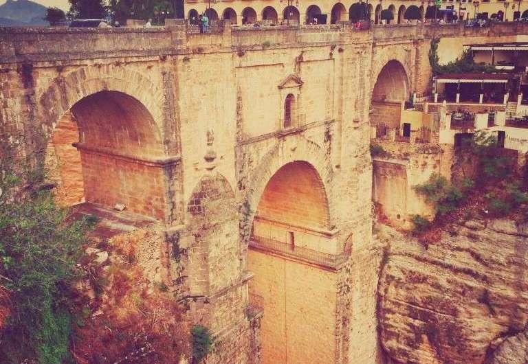 Das Viadukt von Ronda