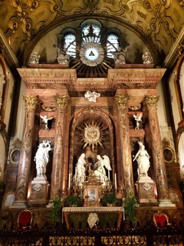 Kathedrale im historischen Stadtkern
