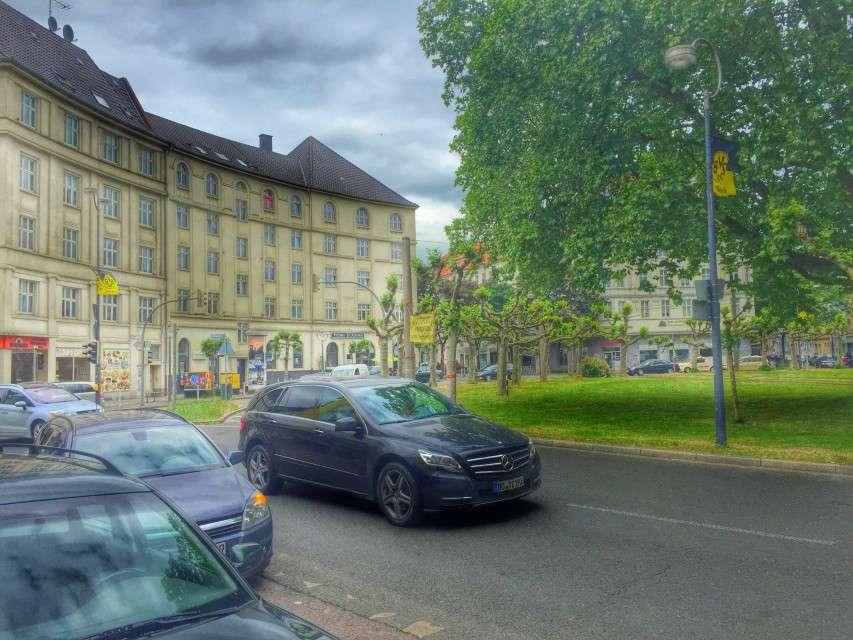 Kreisverkehr am Borsigplatz