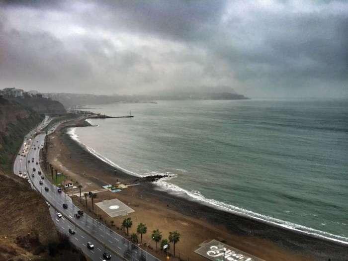 Die Küste in Miraflores