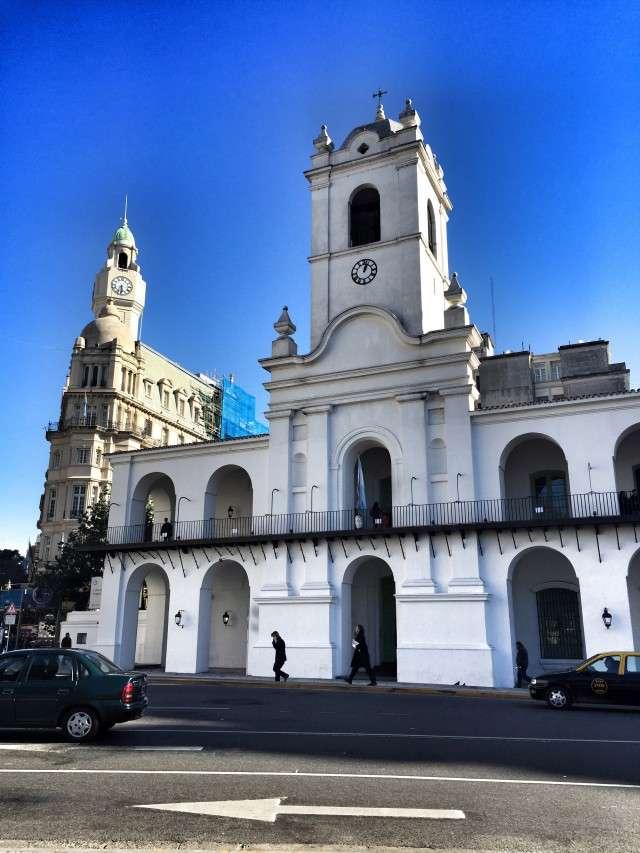 Der ehemalige Sitz der Kolonialregierung am Plaza de Mayo - heute ein Museum