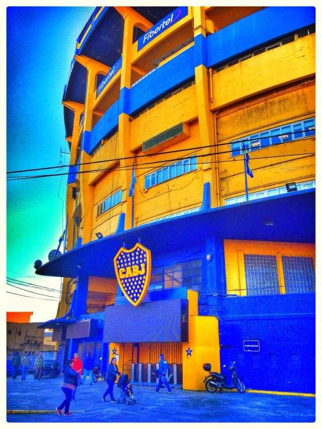 Stadion der Boca Juniors