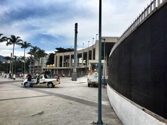 Eingangsbereich zum Maracana