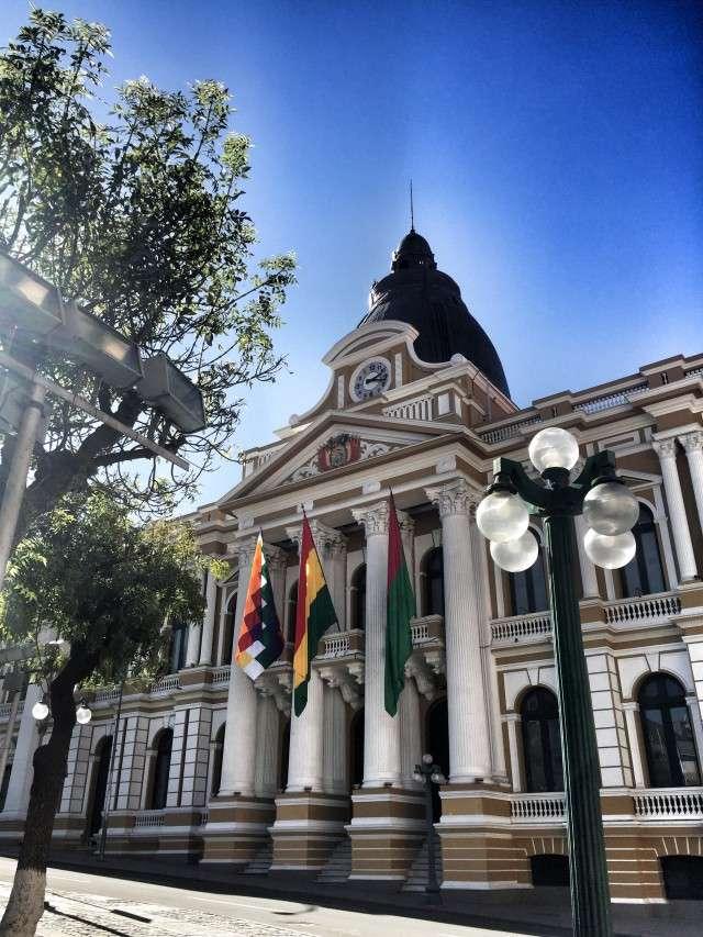 Das bolivianische Parlament