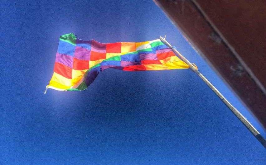 Die Nationalflaggen von Bolivien