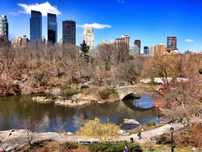 Central Park und Skyline