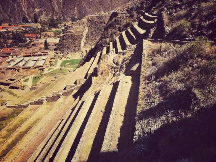 Stufen auf den Tempelberg