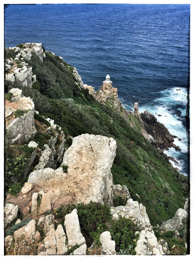 Der zweite Leuchtturm an der Spitze von Cape Point