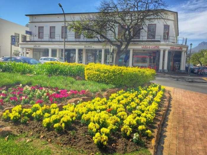 Historische Innenstadt der Wein-Hauptstadt Stellenbosch