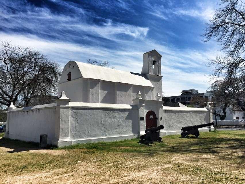 Kirche im historischen Zentrum von Stellenbosch