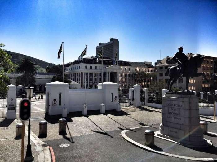 Das Parlament am Rande der Gardens