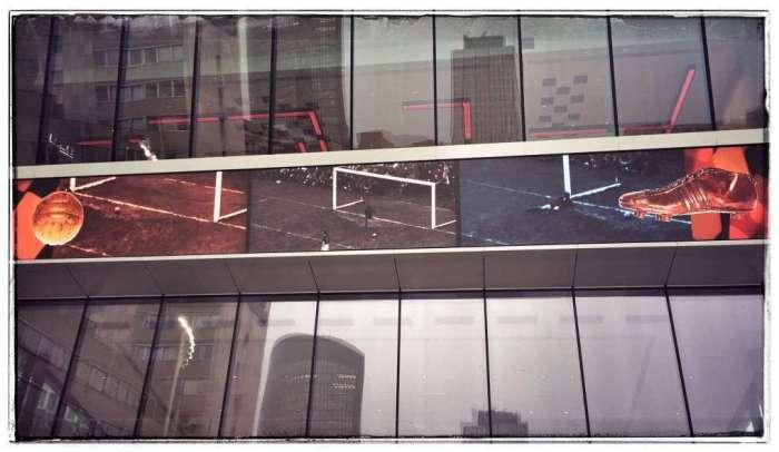 Fassade des Fußballmuseums