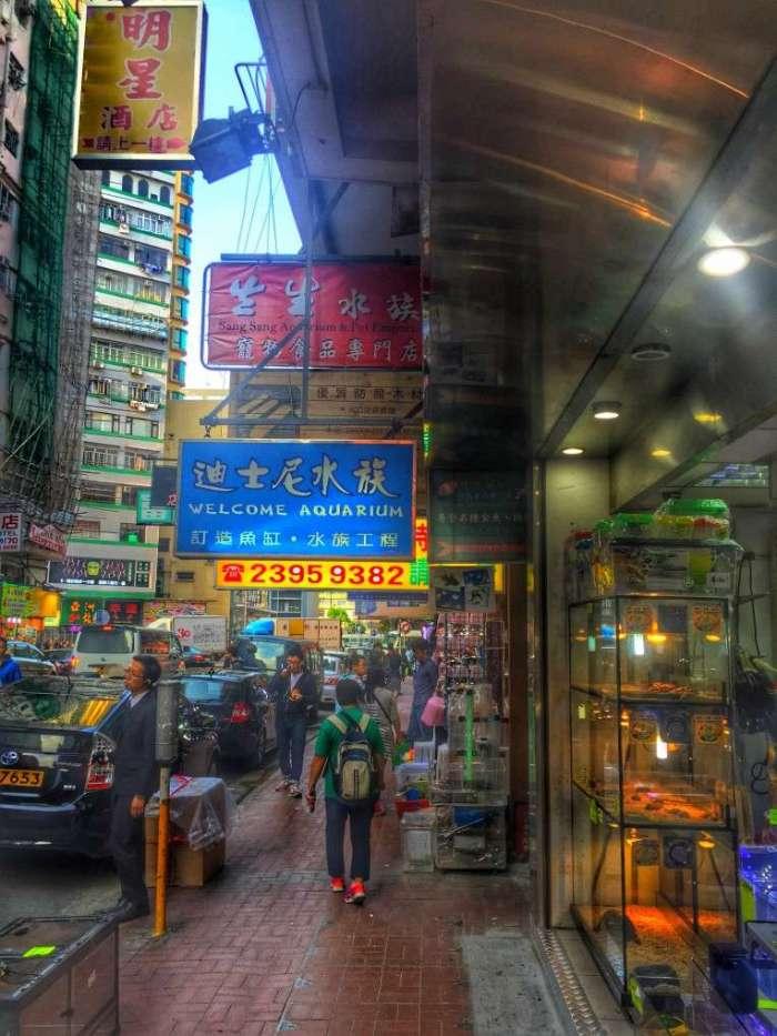 Stadtteil Mong Kok