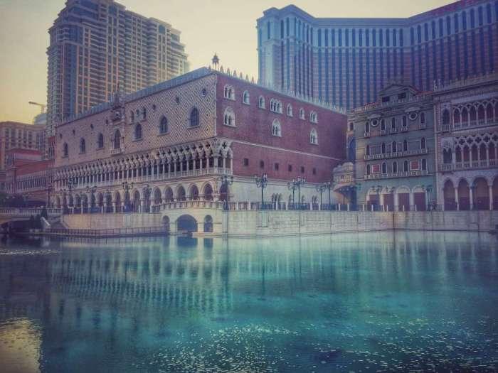 Der nachgebaute Dogen-Palast am Venetian