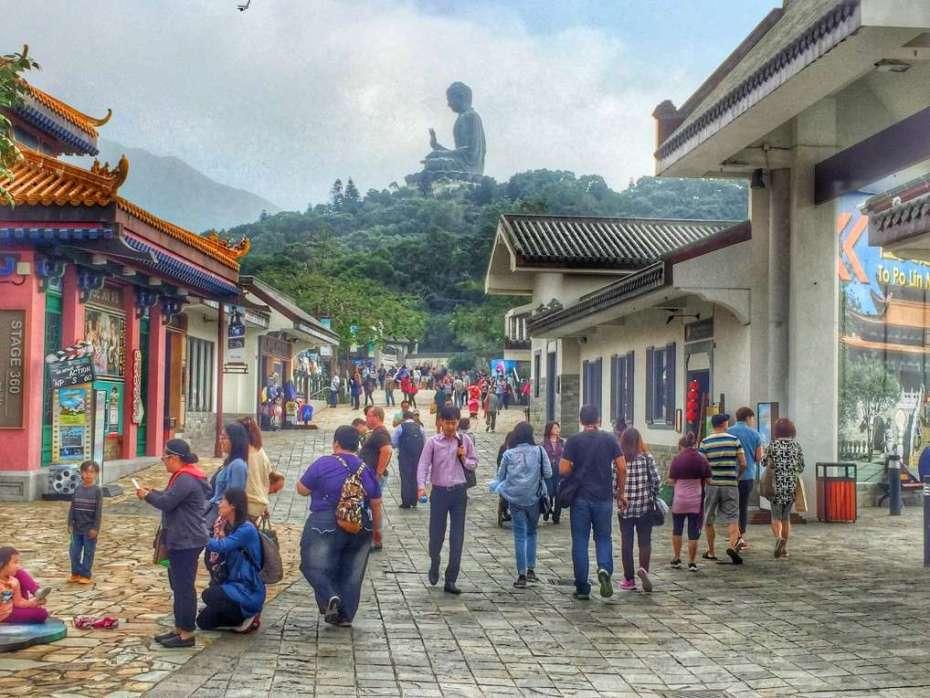 Das chinesische Dorf mit Kung-Fu-Shows
