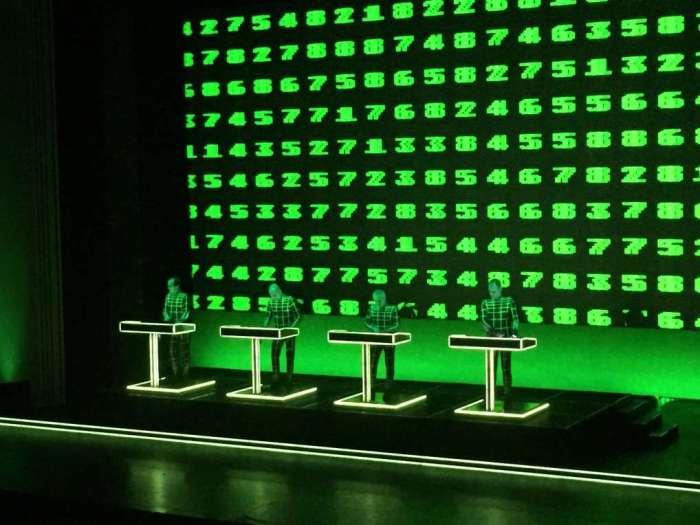 Konzert der Band Kraftwerk in der Lichtburg