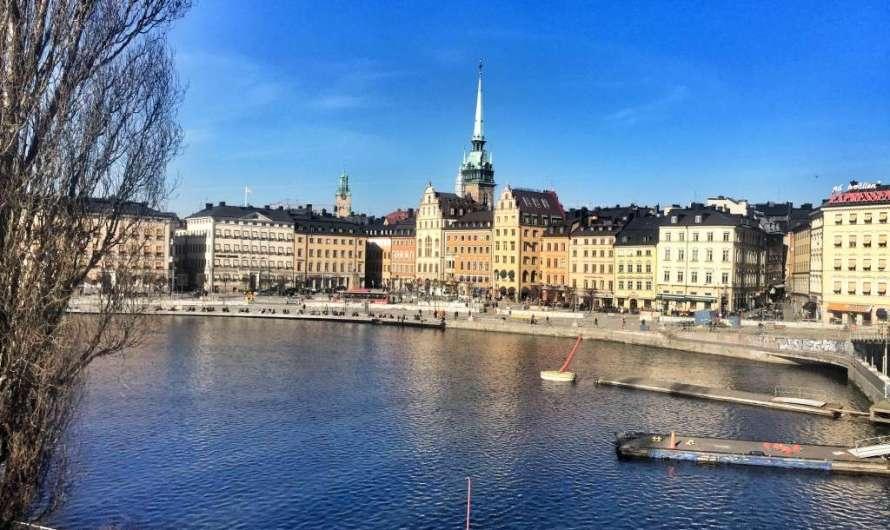 VIDEO: Fast Motion Stockholm