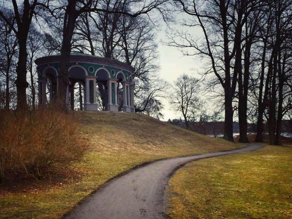 Pavillon bei Schloss Haga