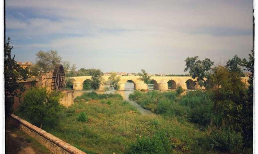 Die römische Brücke in Cordoba